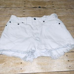 Reformation Levi's shorts